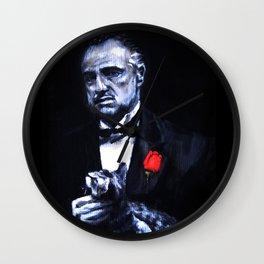 Don Vito Corleone The Godfather Wall Clock