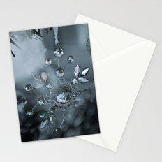 snowflake monochrome Stationery Cards