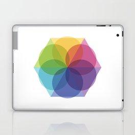 Fig. 012 Geometric Circles and Triangles Laptop & iPad Skin