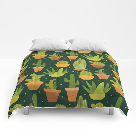 Cactuses Comforters