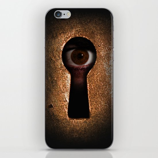 Who is watching you? iPhone & iPod Skin
