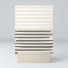 Brush Lines Pattern #society6 #decor #buyart Mini Art Print