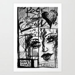 Emotiva Art Print