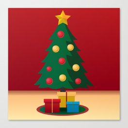 A icon of Christmas Canvas Print