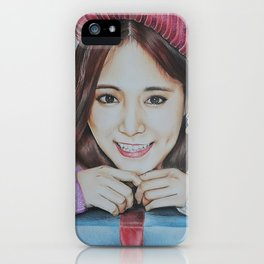 Kpop Twice Tzuyu Fanart iPhone Case