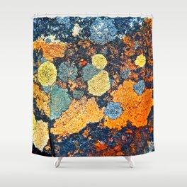 Lichen Art Shower Curtain