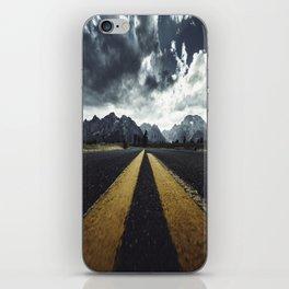 grand teton national park road iPhone Skin