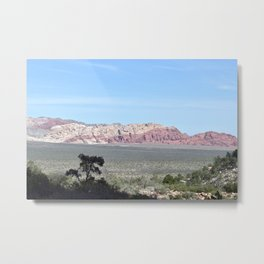 View From Ice Box Canyon Metal Print