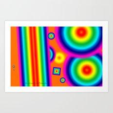 Psychedelich  Art Print