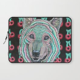 The Power Wolf Parties with God Laptop Sleeve