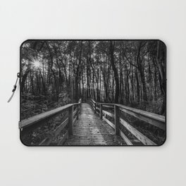 Light in the forest Laptop Sleeve