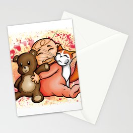 Group Hug Stationery Cards