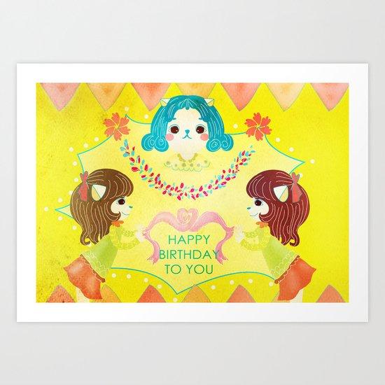 Birthday  Art Print