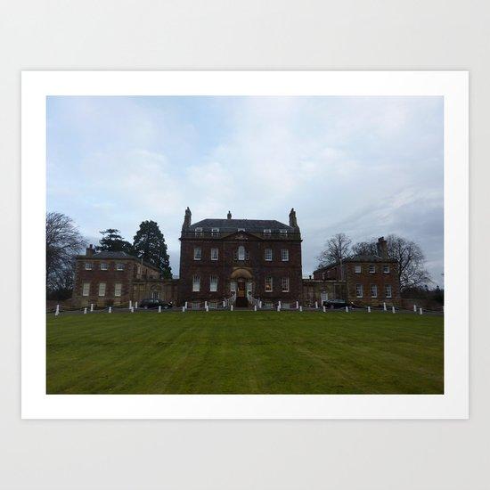 Culloden Manor Art Print