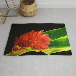 Tropical Flower Rug