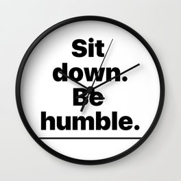 Humble Wall Clock