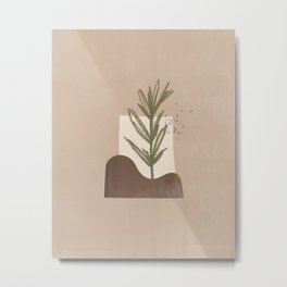planted Metal Print