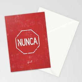NUNCA PARA Stationery Cards