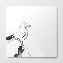 Surly Seagull Metal Print