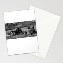 The two Old Timers Stationery Cards