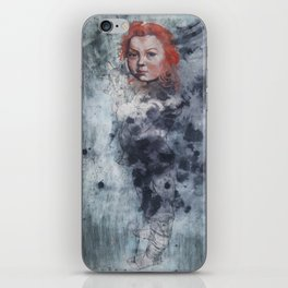 Le Brun Plays with Science by Jain McKay iPhone Skin