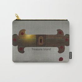 Treasure Island Minimal Poster Carry-All Pouch