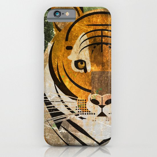 Tiger 2 iPhone & iPod Case