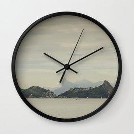 Distant Islands of Rio de Janeiro Wall Clock