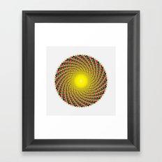 GodEye8 Framed Art Print