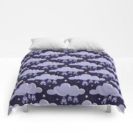 Dreaming bats Comforters