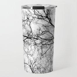 Tree Branch Silhouette Travel Mug