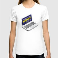 computer T-shirts featuring Computer Emotions by Andrew J. Nilsen  / Visualinguist