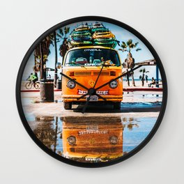 Surfing for life Wall Clock