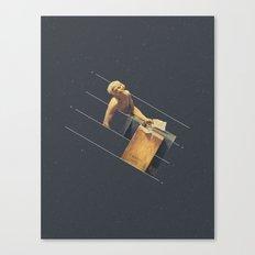 NOT The Death of Marat Canvas Print