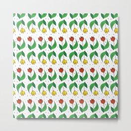 Happy Tulips Metal Print