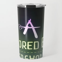 Razored Edge Barbershop Travel Mug
