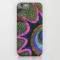 Starburst and polkadots batik Slim Case iPhone 6