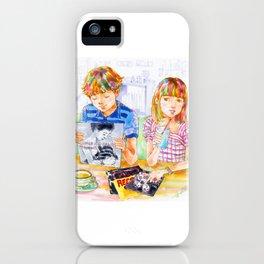 Pop Kids vol.7 iPhone Case