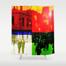 Unity Divided Shower Curtain