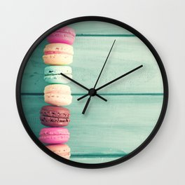 Sweet Fence Wall Clock