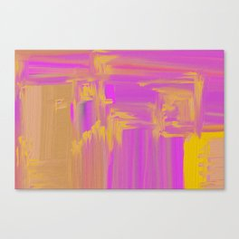 impastel Canvas Print