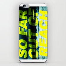 SO FAR OUT OF REACH (Psalm 143) iPhone & iPod Skin