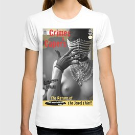 The Jewel Thief Returns. Queen Pulp Series T-shirt