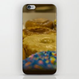 Delicious Box of Donuts Photograph iPhone Skin