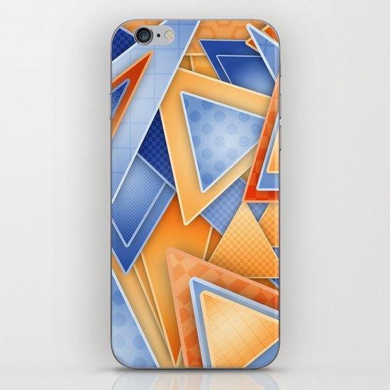 GeOmEtRiCity iPhone & iPod Skin