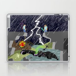The Final Confrontation Laptop & iPad Skin