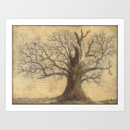 F[oak]lore Art Print