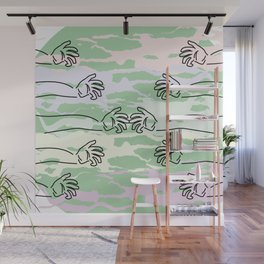 a pain of division Wall Mural