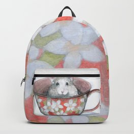 Rat in a cup Backpack