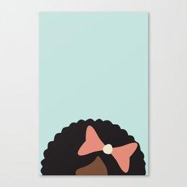 BOW Down Canvas Print